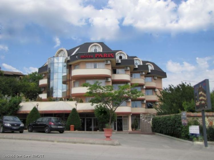 3 star hotel with 70 people capacity in Balchik by Black sea , close to golf courses - €625.000